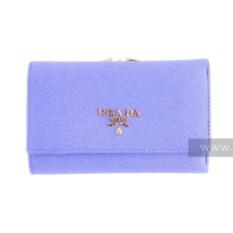 Женский кошелек Prada (цвет: голубой)