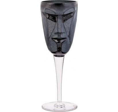 Черный бокал Kubik