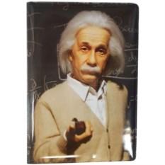 Обложка для паспорта Эйнштейн