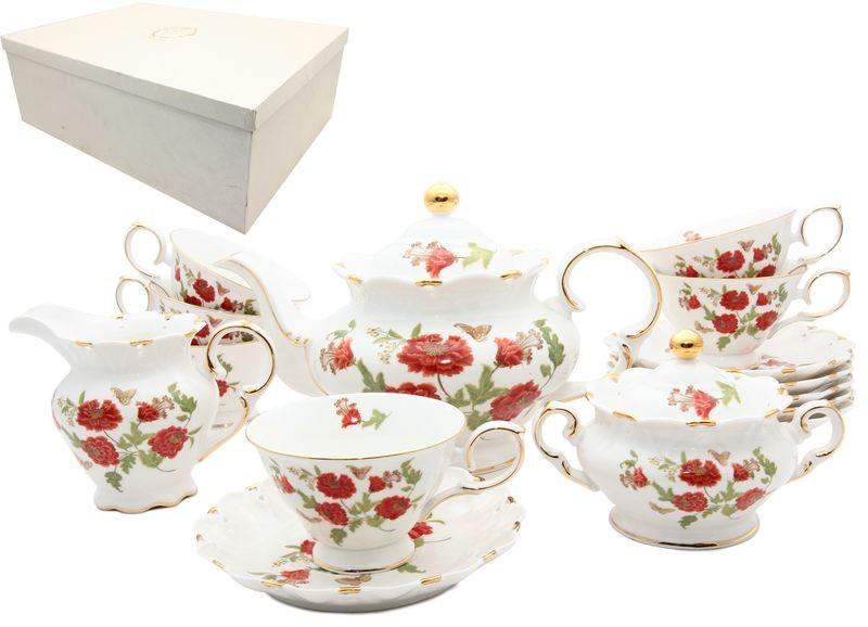 Чайный сервиз Терракотовый цветок