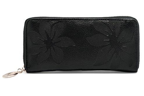 Чёрный кошелек Beauty