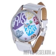 Часы Mitya Veselkov Париж и цветное сердце