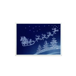 Картина из кристаллов «Новогодний сюрприз»