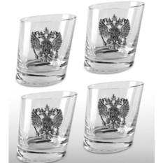 Подарочный набор стаканов для виски «Русская Башня»