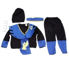 Карнавальный костюм Черепашка-ниндзя (цвет - синий)
