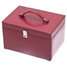 Красная шкатулка для украшений Davidt's