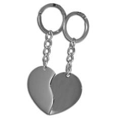 Парный брелок Половинки сердца
