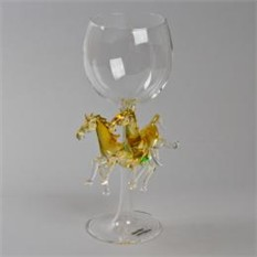Бокал для вина «Лошади»