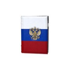 Кожаный ежедневник А5 «Флаг»