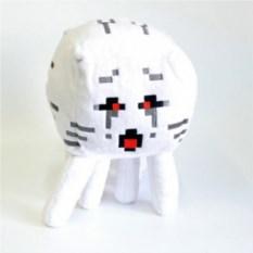 Мягкая игрушка Minecraft Гаст с красными глазами
