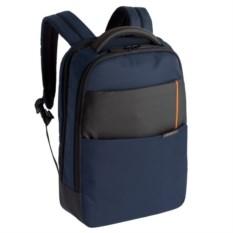Синий рюкзак для ноутбука Qibyte Laptop Backpack
