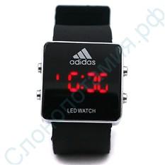 Наручные часы Led Watch Adidas, черные