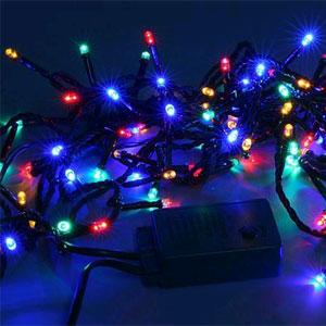 Электрогирлянда 50 LED огней для улицы