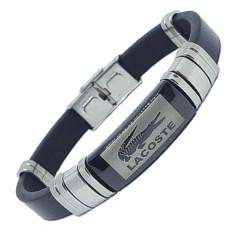 Кожаный браслет Lacoste
