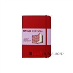 Записная книжка CoolNotes Red/Red Agryl Rose teNeues