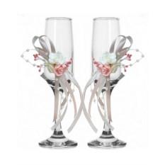 Набор свадебных бокалов №41