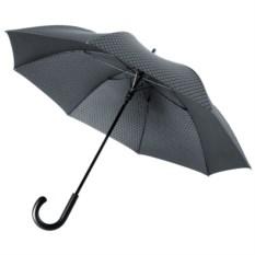 Черный с серым зонт-трость Alessio