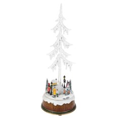 Новогоднее светящееся украшение Городская елка