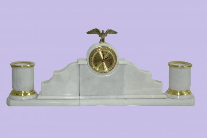 Настольный набор из мрамора