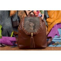 Женский рюкзак с принтом Водный мир