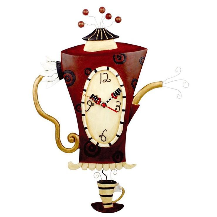 Часы Кипящий чайник