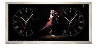 Настенные часы из песка Танго