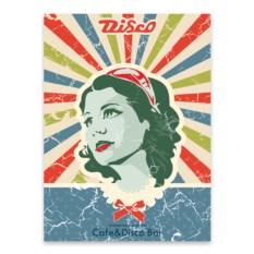 Постер Диско