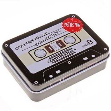 Шкатулка «Аудиокассета»
