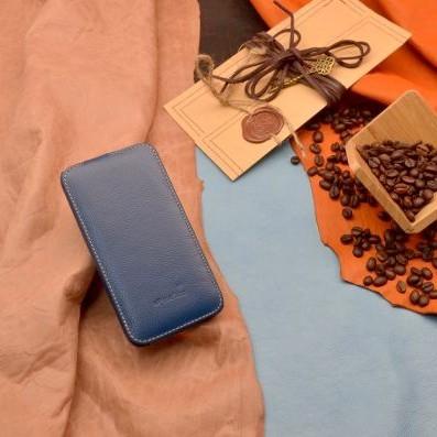 Кожаный чехол для iPhone 6 «Глубины синего моря»