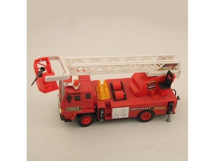 Радиоуправляемая пожарная машина с подъемной стрелой