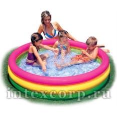 Надувной бассейн Радуга для детей от 3 до 6 лет