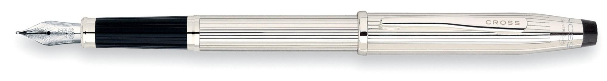Перьевая ручка Cross Century II Sterling Silver F