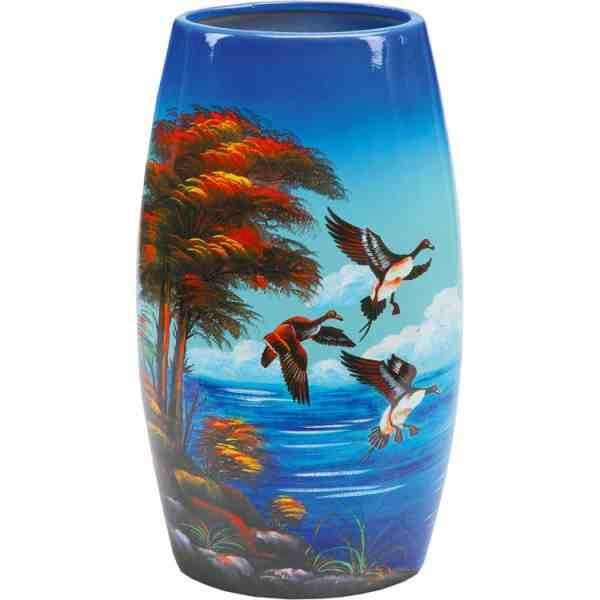 Декоративная ваза Утиная охота
