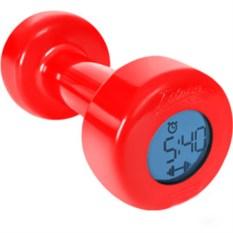 Часы-будильник Красная гантеля