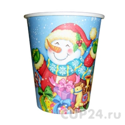 Новогодние стаканчики «Снеговик»