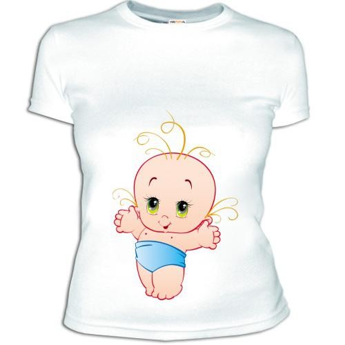Женская футболка Малыш 2