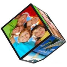 Фоторамка Вращающийся куб