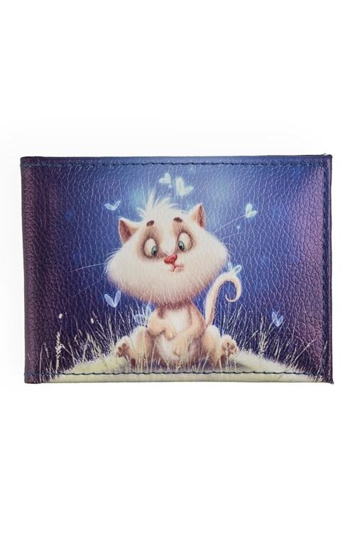 Обложка для студенческого билета Волшебный котик