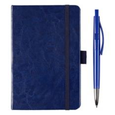 Набор подарочный Idea из авторучки и синего блокнота