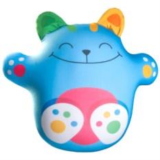 Игрушка-антистресс Кот Лучик голубого цвета