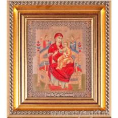 Панно-гравюра Образ Пресвятой Богородицы Всецарица