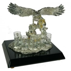 Подарочный набор стопок Орёл (на 6 персон)