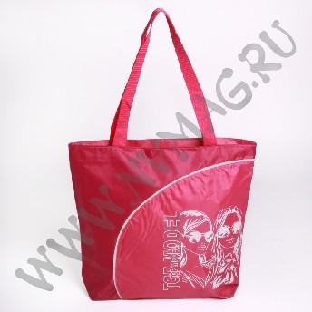 Красная пляжная сумка