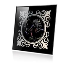 Картина Swarovski Стрелец черного цвета