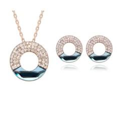 Комплект с кристаллами Сваровски «Иллюзия луны»