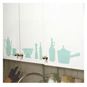Виниловая наклейка kitchen & bath