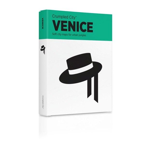 Мятая карта Венеция (Venice)