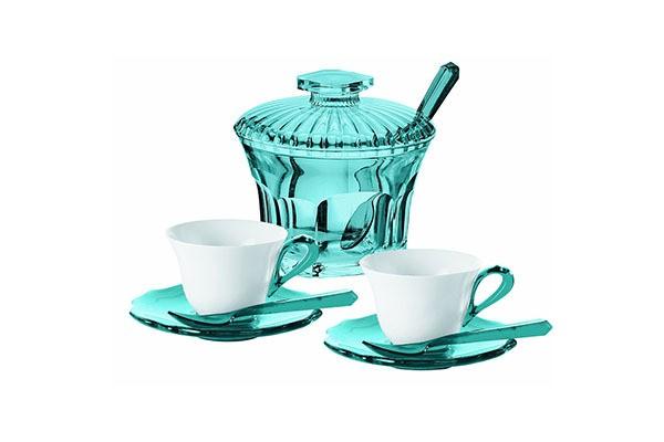 Голубой сервиз для эспрессо Belle Epoque