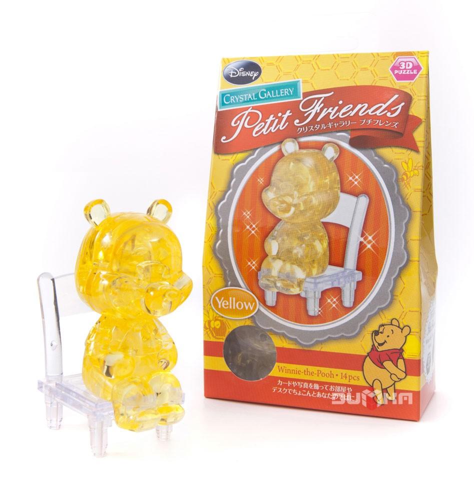 3D головоломка Винни, малый, желтый