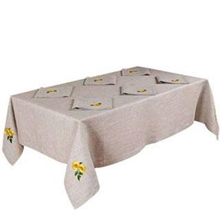 Столовый комплект «Подсолнухи»